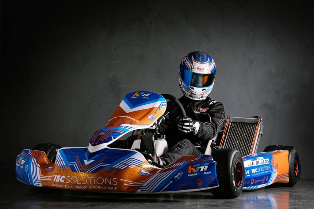 Design graphique karting