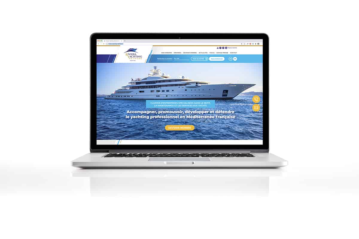 Site internet yachting
