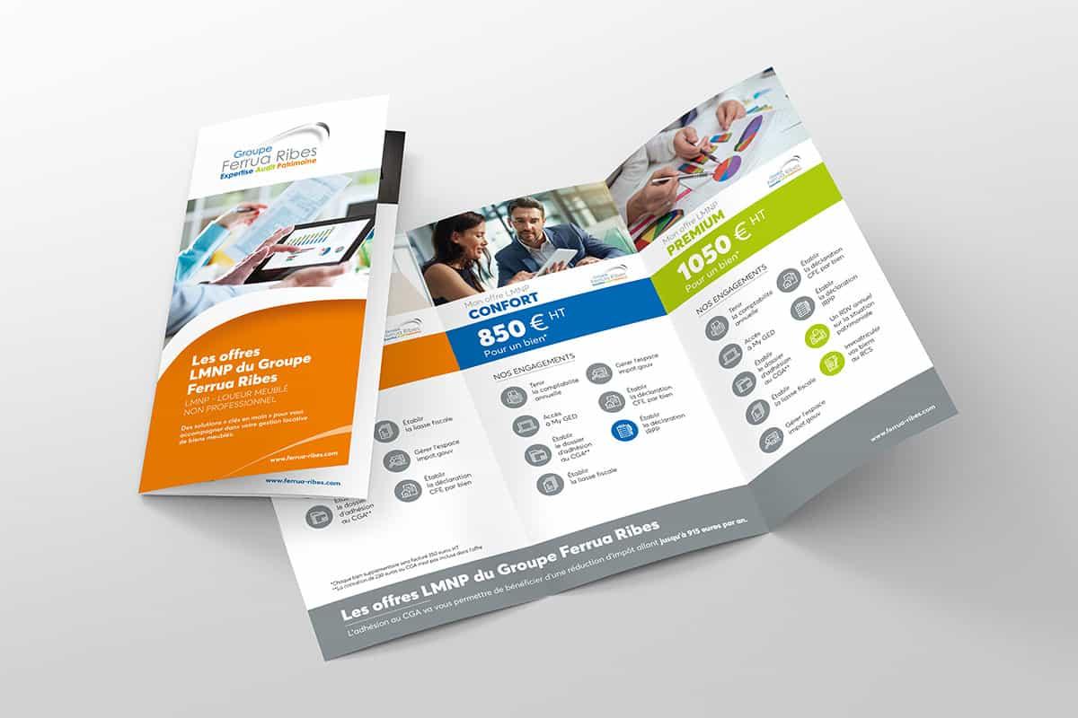 Plaquette présentation services