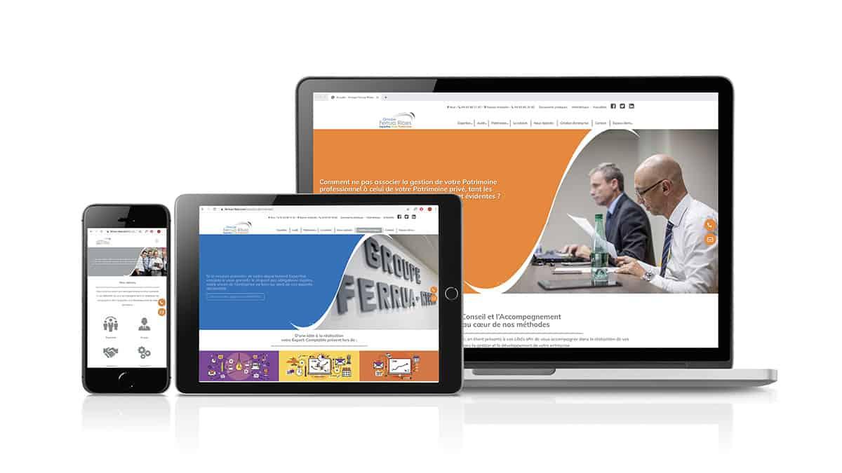 Développement site responsive