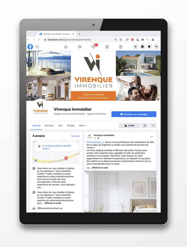 Campagnes ads immobilier